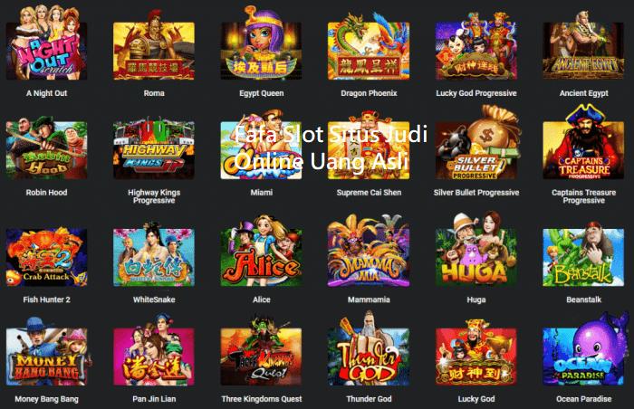 Fafa Slot Situs Judi Online Uang Asli